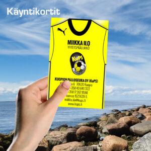 Kuopion Liikekirjapaino Käyntikortit