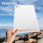 Kuopion Liikekirjapainosta kirjelomakkeet.