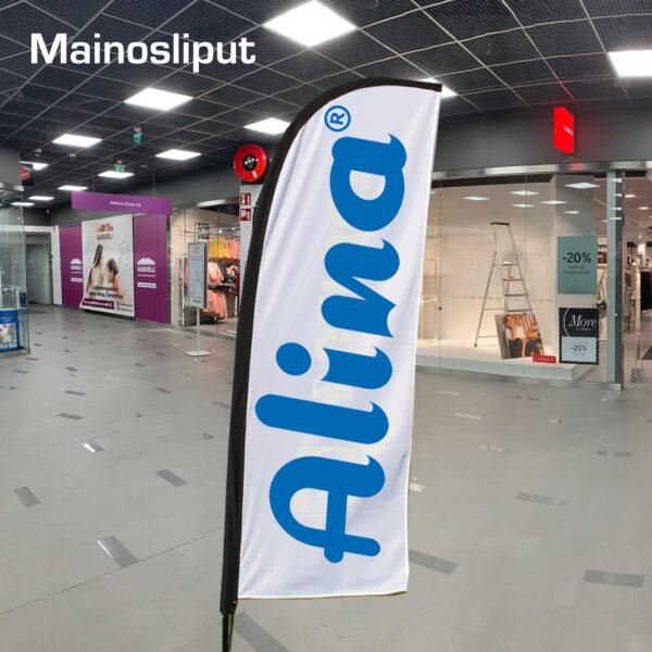 Kuopion Liikekirjapaino mainosliput