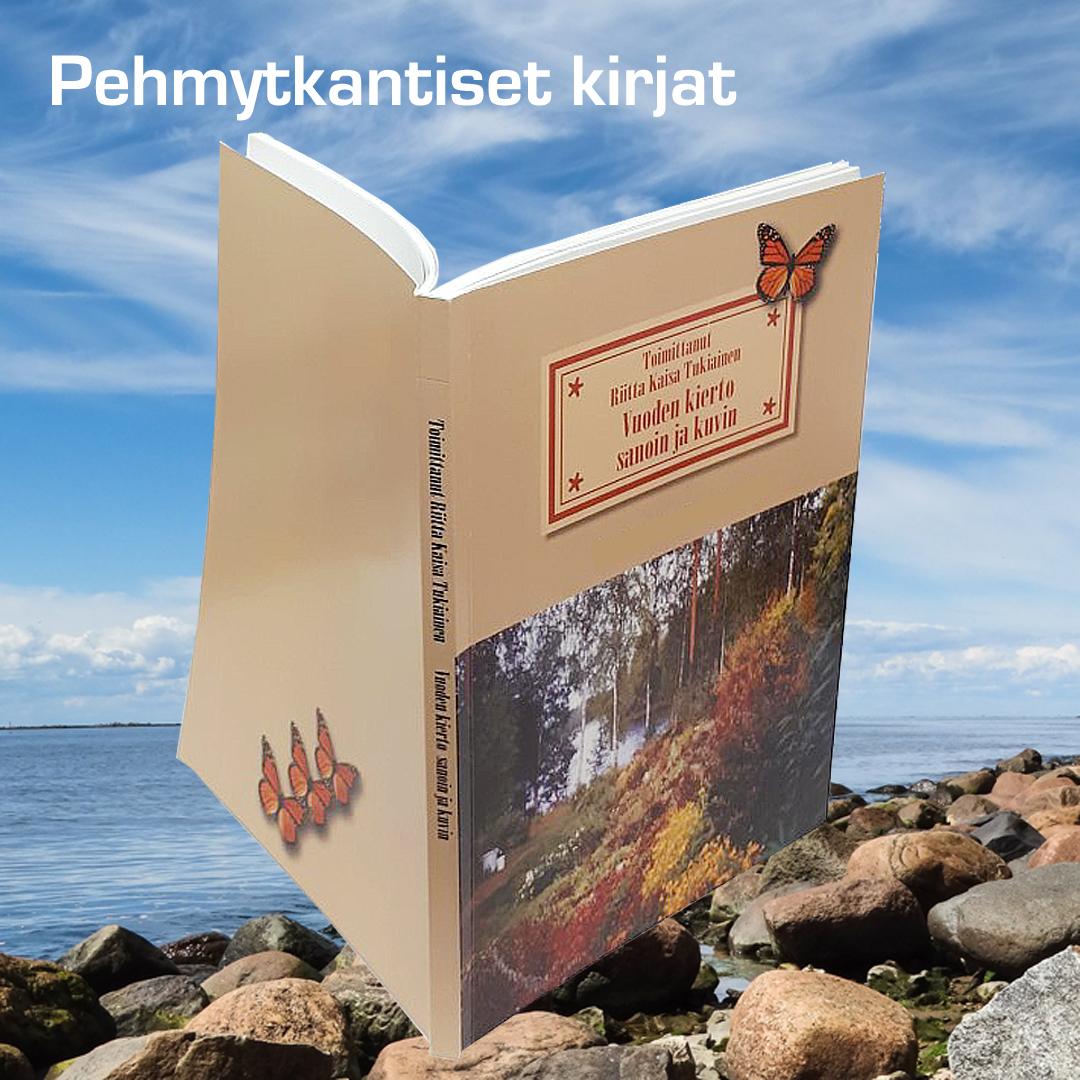 Kuopion Liikekirjapaino Pehmytkantiset kirjat