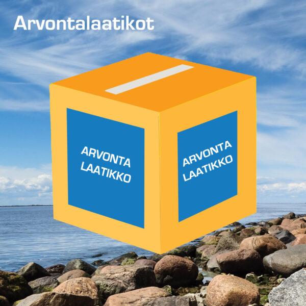 Kuopion Liikekirjapainosta tilaat arvontalaatikot.