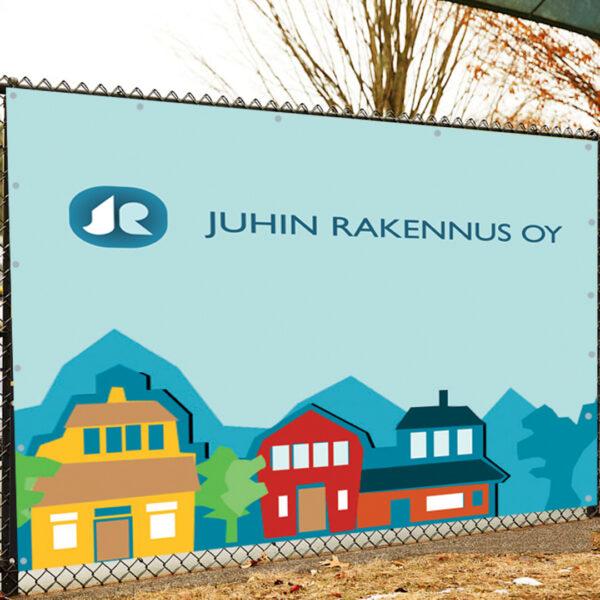 Kuopion Liikekirjapaino tulostaa isotkin banderollit.