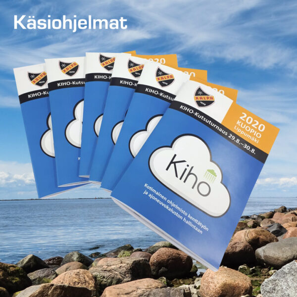Kuopion Liikekirjapaino painaa käsiohjelmat tapahtumiin.