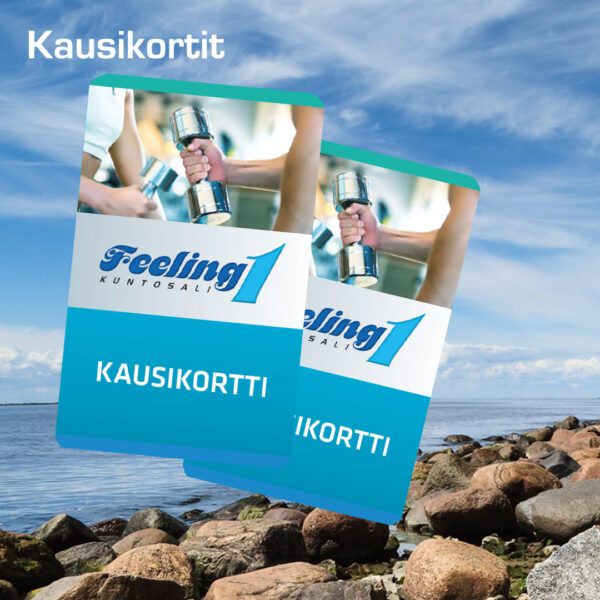 Kuopion Liikekirjapaino painaa kausikortit urheiluseuralle, kuntosalille ja tapahtumiin.