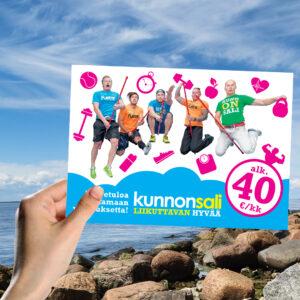 Kuopion Liikekirjapaino painaa kortit.