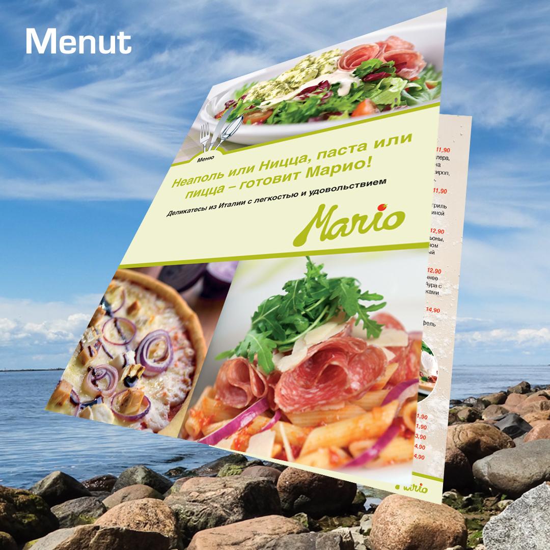 Kuopion Liikekirjapainosta tilaat menut eli ruokalistat.
