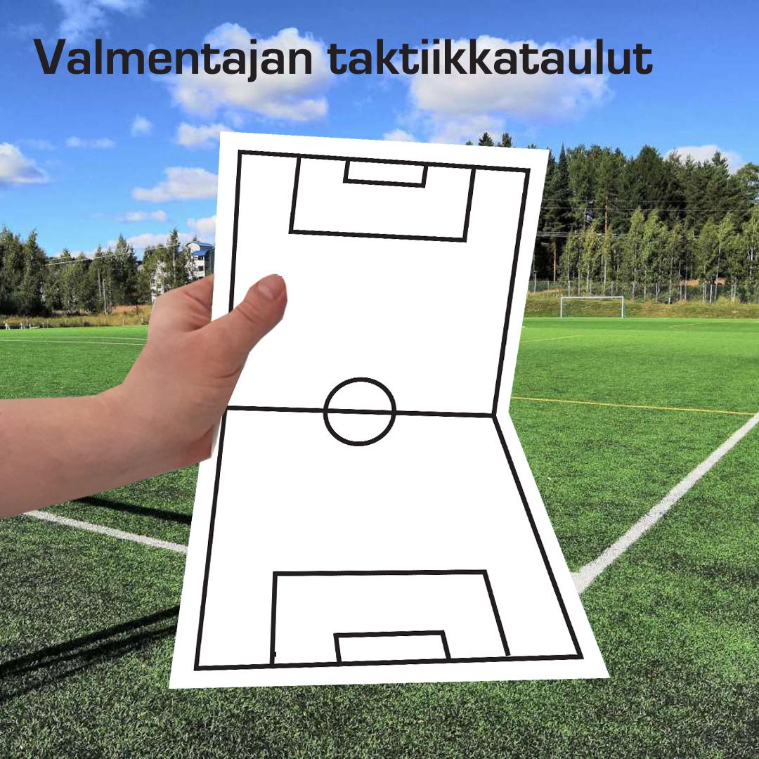 Kuopion Liikekirjapaino valmistaa valmentajan taktiikkataulut.