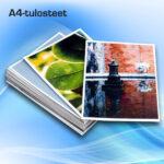 Kuopion Liikekirjapaino tulostaa A4-tulosteet nopeasti ja edullisesti.